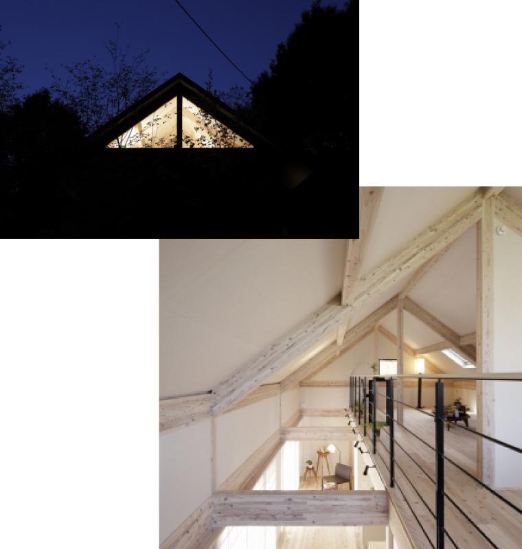 切妻の屋根