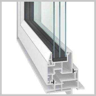 トリプルガラス樹脂サッシ